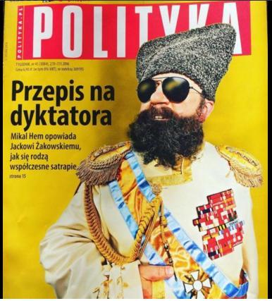 Diktator i en stor ukentlig avis